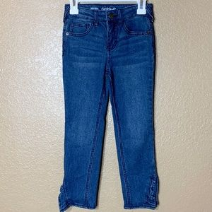 Cat & Jack girls super skinny stretchy jeans